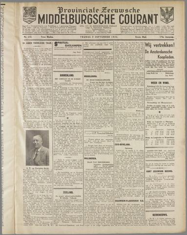 Middelburgsche Courant 1932-09-09
