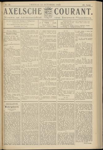 Axelsche Courant 1929-10-11