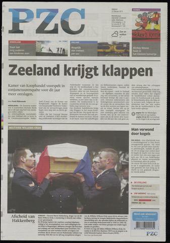 Provinciale Zeeuwse Courant 2013-02-22