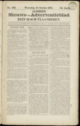 Ter Neuzensche Courant. Algemeen Nieuws- en Advertentieblad voor Zeeuwsch-Vlaanderen / Neuzensche Courant ... (idem) / (Algemeen) nieuws en advertentieblad voor Zeeuwsch-Vlaanderen 1865-10-25