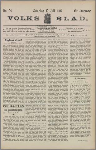 Volksblad 1922-07-15