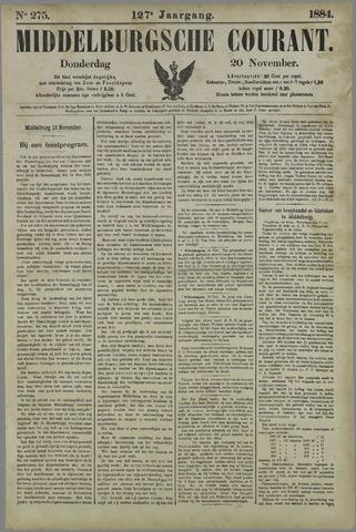 Middelburgsche Courant 1884-11-20
