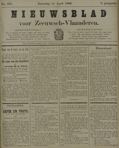 Nieuwsblad voor Zeeuwsch-Vlaanderen 1896-04-11