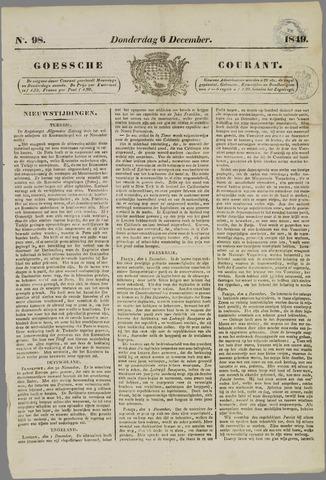 Goessche Courant 1849-12-06