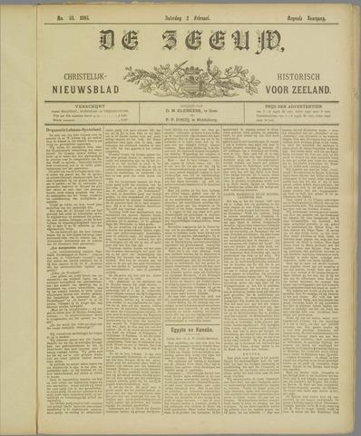 De Zeeuw. Christelijk-historisch nieuwsblad voor Zeeland 1895-02-02