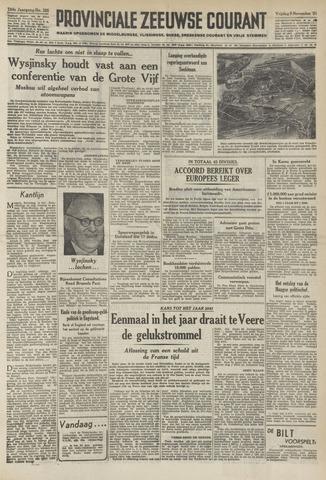 Provinciale Zeeuwse Courant 1951-11-09