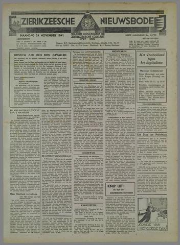 Zierikzeesche Nieuwsbode 1941-10-25
