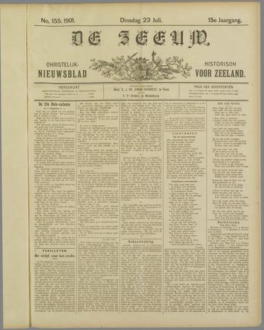 De Zeeuw. Christelijk-historisch nieuwsblad voor Zeeland 1901-07-23
