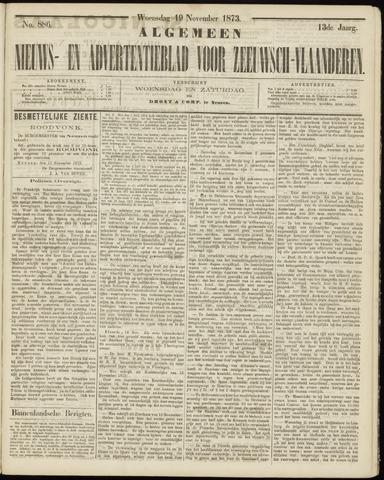 Ter Neuzensche Courant. Algemeen Nieuws- en Advertentieblad voor Zeeuwsch-Vlaanderen / Neuzensche Courant ... (idem) / (Algemeen) nieuws en advertentieblad voor Zeeuwsch-Vlaanderen 1873-11-19