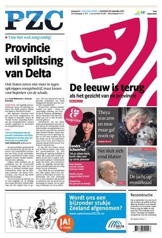 Provinciale Zeeuwse Courant 2015-09-26