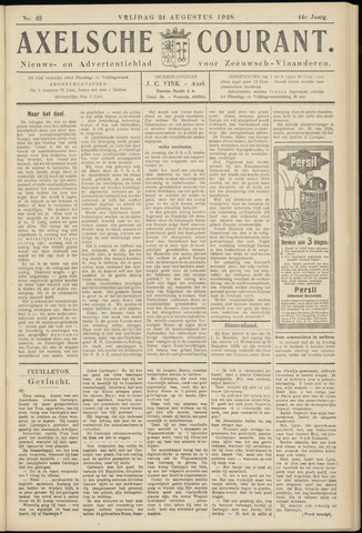 Axelsche Courant 1928-08-24