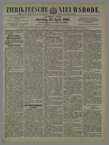 Zierikzeesche Nieuwsbode 1905-04-22