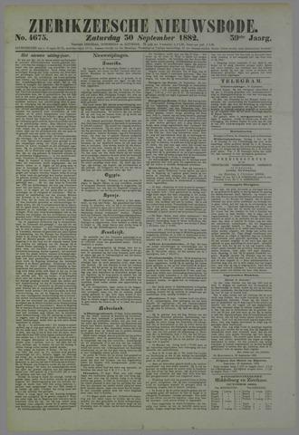 Zierikzeesche Nieuwsbode 1882-09-30