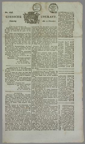 Goessche Courant 1826-11-13