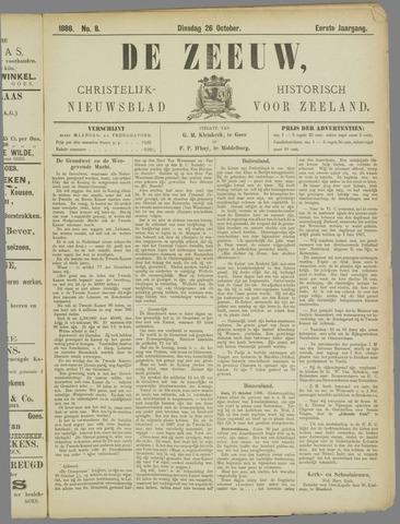 De Zeeuw. Christelijk-historisch nieuwsblad voor Zeeland 1886-10-26