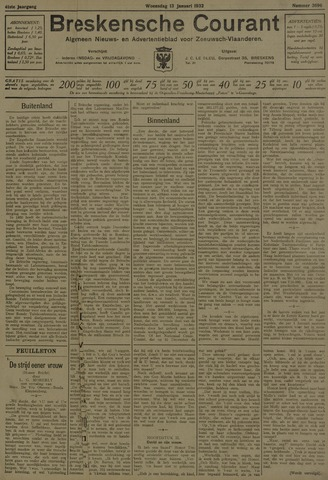 Breskensche Courant 1932-01-13