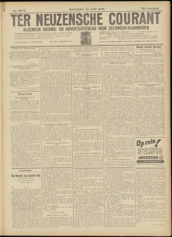 Ter Neuzensche Courant. Algemeen Nieuws- en Advertentieblad voor Zeeuwsch-Vlaanderen / Neuzensche Courant ... (idem) / (Algemeen) nieuws en advertentieblad voor Zeeuwsch-Vlaanderen 1936-06-29