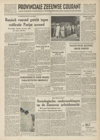 Provinciale Zeeuwse Courant 1954-11-16