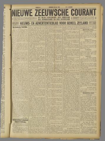 Nieuwe Zeeuwsche Courant 1924-07-29
