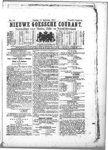 Nieuwe Goessche Courant 1877-09-11