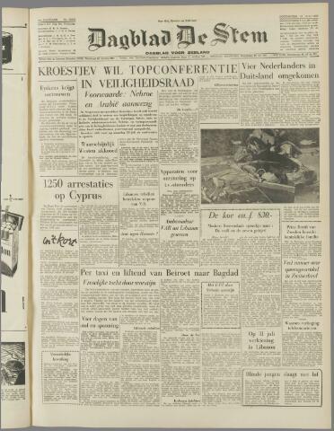de Stem 1958-07-24