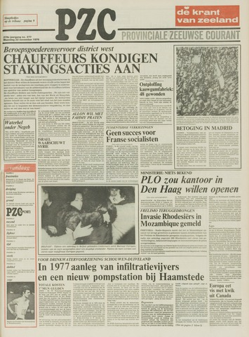 Provinciale Zeeuwse Courant 1976-11-22