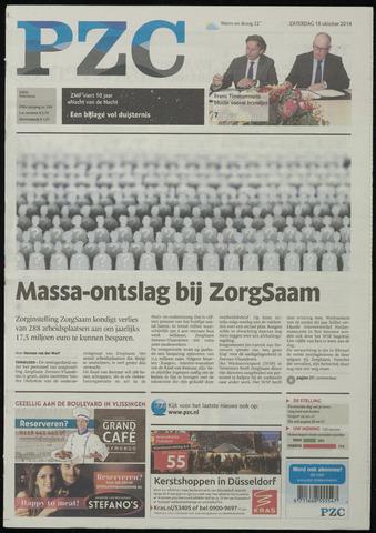 Provinciale Zeeuwse Courant 2014-10-18