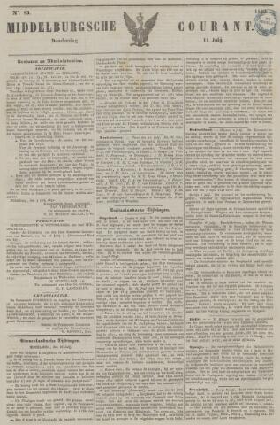 Middelburgsche Courant 1850-07-11