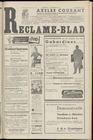 Axelsche Courant 1956-09-05