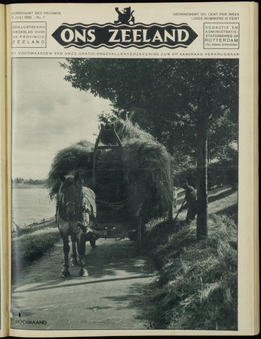 Ons Zeeland / Zeeuwsche editie 1932-07-15