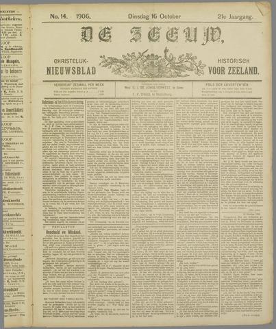 De Zeeuw. Christelijk-historisch nieuwsblad voor Zeeland 1906-10-16