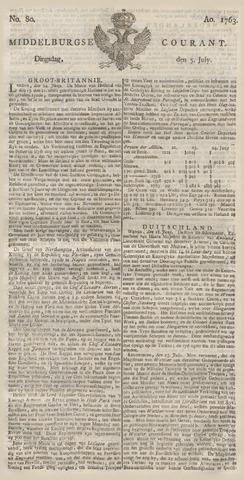 Middelburgsche Courant 1763-07-05