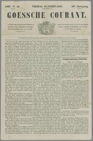Goessche Courant 1867-02-15