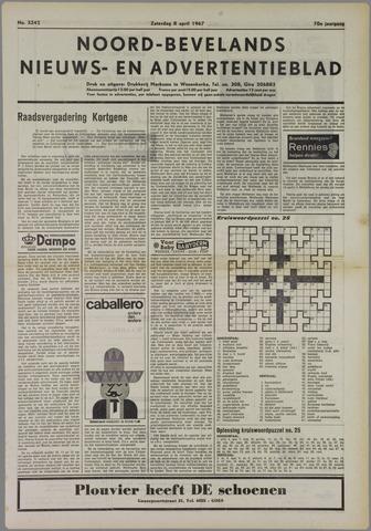 Noord-Bevelands Nieuws- en advertentieblad 1967-04-08