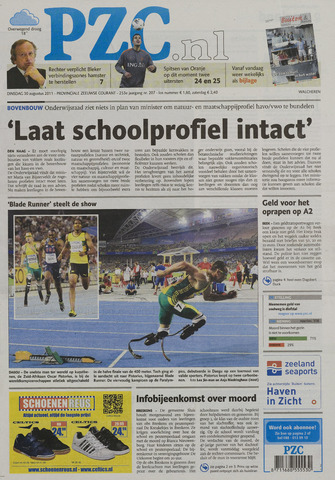 Provinciale Zeeuwse Courant 2011-08-30