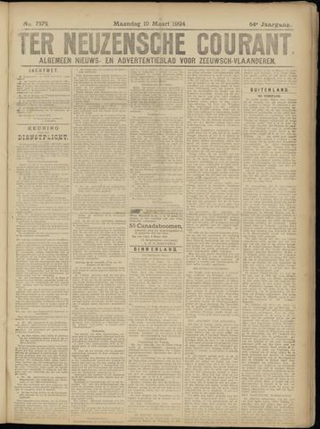 Ter Neuzensche Courant. Algemeen Nieuws- en Advertentieblad voor Zeeuwsch-Vlaanderen / Neuzensche Courant ... (idem) / (Algemeen) nieuws en advertentieblad voor Zeeuwsch-Vlaanderen 1924-03-10
