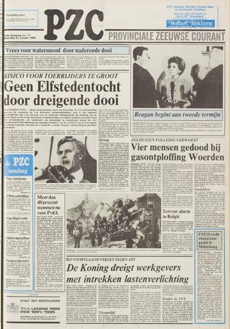 Provinciale Zeeuwse Courant 1985-01-21