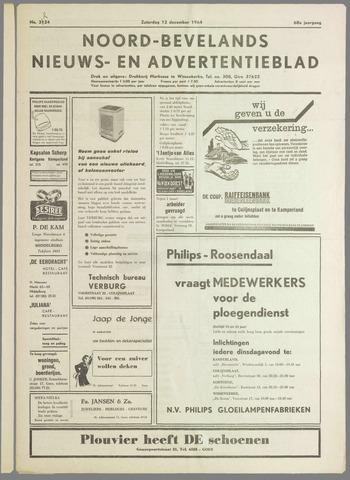 Noord-Bevelands Nieuws- en advertentieblad 1964-12-12