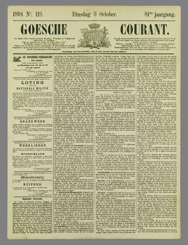 Goessche Courant 1894-10-09