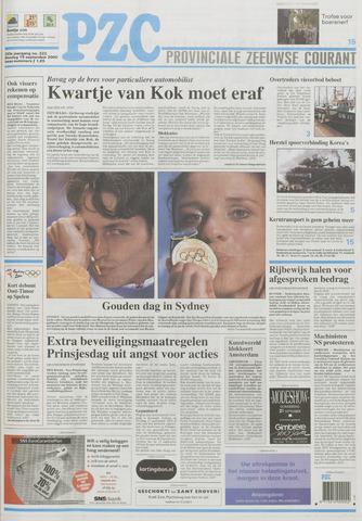 Provinciale Zeeuwse Courant 2000-09-19