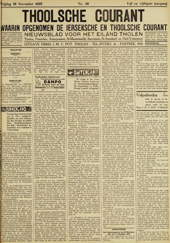 Ierseksche en Thoolsche Courant 1937-11-19