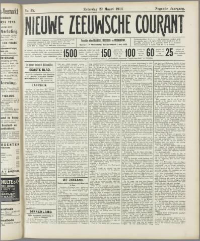 Nieuwe Zeeuwsche Courant 1913-03-22