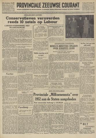 Provinciale Zeeuwse Courant 1951-10-26