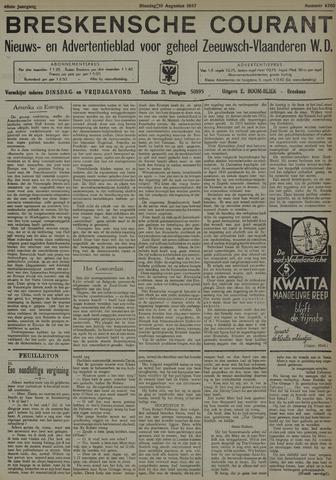 Breskensche Courant 1937-08-10