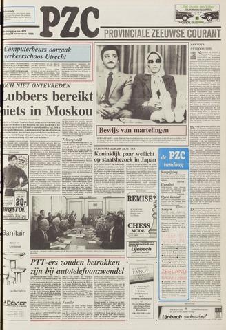 Provinciale Zeeuwse Courant 1986-11-22