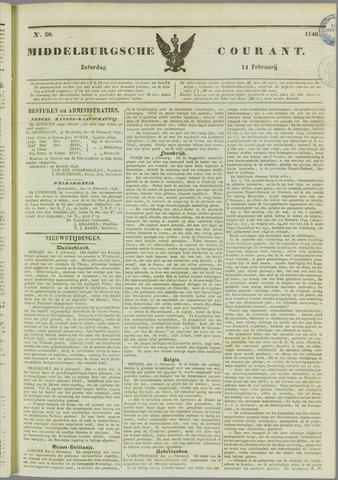 Middelburgsche Courant 1846-02-14