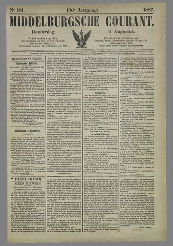 Middelburgsche Courant 1887-08-04