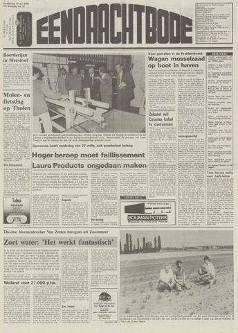 Eendrachtbode (1945-heden)/Mededeelingenblad voor het eiland Tholen (1944/45) 1989-05-11