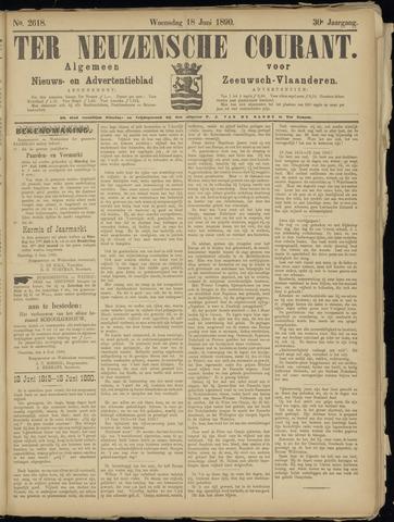 Ter Neuzensche Courant. Algemeen Nieuws- en Advertentieblad voor Zeeuwsch-Vlaanderen / Neuzensche Courant ... (idem) / (Algemeen) nieuws en advertentieblad voor Zeeuwsch-Vlaanderen 1890-06-18