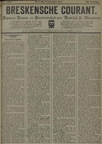 Breskensche Courant 1914-09-02